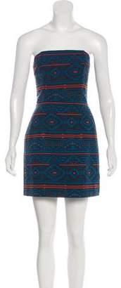 Jenni Kayne Printed Strapless Dress