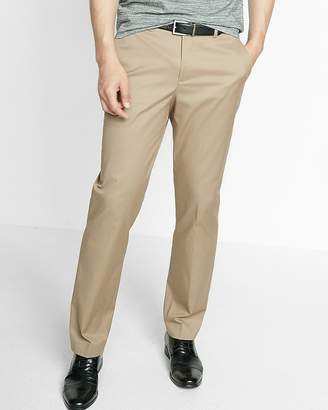 Express Relaxed Stretch Cotton Dress Pant