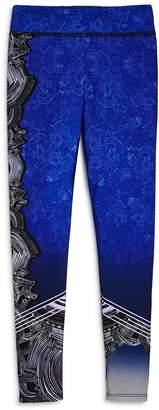 Onzie Girls' Embroidery Print Leggings