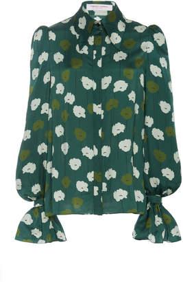 Carolina Herrera Puff-Sleeve Shirt