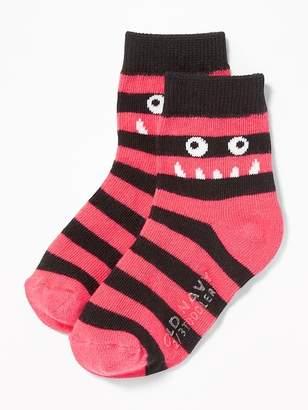 Old Navy Monster Critter Socks for Toddler & Baby