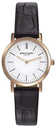 Pierre Cardin Womens Analogue Classic Quartz Watch with Leather Strap PC108112F03