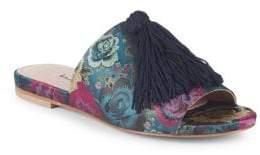 Charles David Sashay Floral Tassel Slides