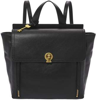 Fossil Amelia Convertible Leather Backpack