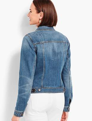Talbots Classic Jean Jacket-Lowell Wash