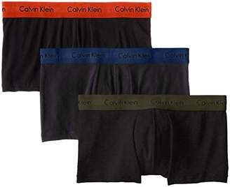 Calvin Klein Cotton Stretch 3 Pack Low Rise Trunks