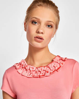 Ted Baker CHARRE Bow trim T-shirt