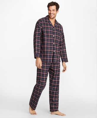 Brooks Brothers Signature Tartan Flannel Pajamas