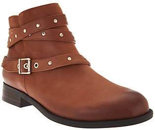 Vionic Ankle Boots with StudDetail - Lona