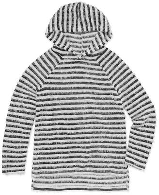 Arizona Long Sleeve Stripe Pullover Hoodie - Girls' 4-16 & Plus