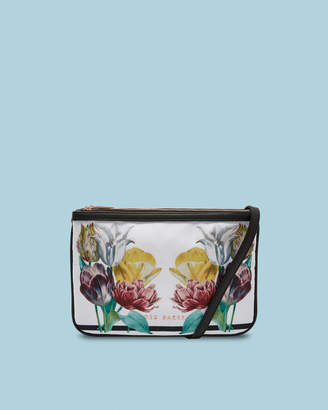 Ted Baker GARDINA Tranquility double pouch cross body bag