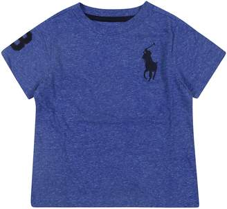 Ralph Lauren Kids Embroidered Logo T-shirt