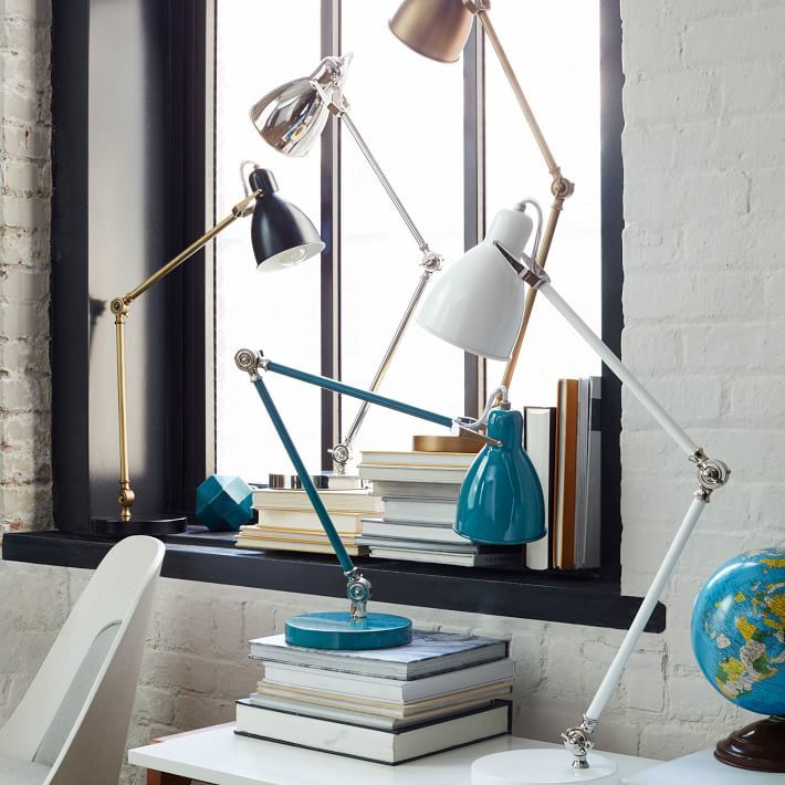 Industrial Task Table Lamps