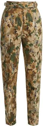 Roam camouflage-print cotton-blend trousers