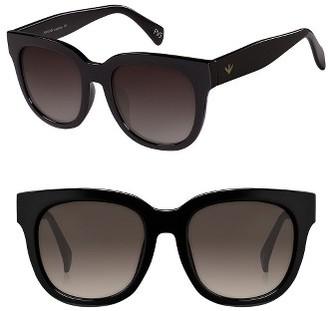 Women's Perverse Dawn Patrol 47Mm Sunglasses - Black/ Black $45 thestylecure.com