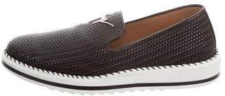Giuseppe Zanotti Tim Leather Sneakers