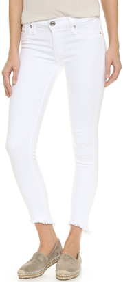 True Religion Halle Mid Rise Super Skinny Jeans $189 thestylecure.com