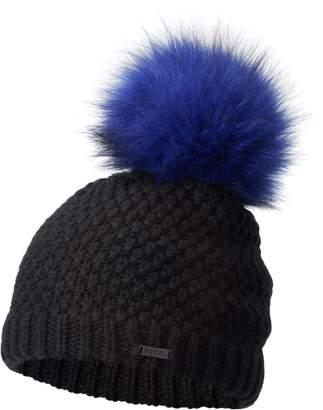 Sorel Cozy Knit Faux Fur Pom Beanie