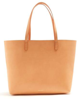 Mansur Gavriel Light Pink Lined Large Leather Tote Bag - Womens - Light Tan