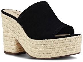 Women's Nine West Skyrocket Platform Slide Sandal $79.95 thestylecure.com