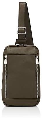 Barneys New York MEN'S LEATHER MESSENGER BAG