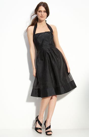 ML Monique Lhuillier Bridesmaids Organza & Taffeta Halter Dress (Nordstrom Exclusive)