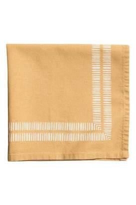 H&M Patterned Cotton Napkin