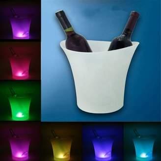 mtqsun ledicebucket;homeicebucket;changingicebucket;winecooler;icebucket;5l;icecooler;champagnecooler;party;Bar 5L LED Light Ice Bucket Champagne Wine Drinks Beer Ice Cooler Bar Party Home Color Changing