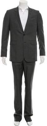 Saint Laurent Prince De Galles Houndstooth Suit
