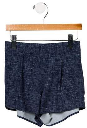 Milly Girls' Woven Two Pocket Shorts w/ Tags