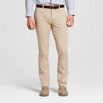 Merona Men's Slim Fit Stretch Chino Pants $24.99 thestylecure.com