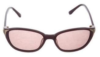 Chloé Tinted Oval Sunglasses