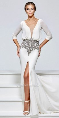Tarik Ediz Cara Evening Dress $848 thestylecure.com