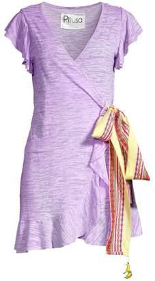Pitusa Llama Wrap Dress