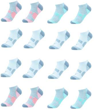 Puma Ladies 8-pair No Show Socks CooCell 8 Pair No Show Women's Socks, Gray (Sock size: 9-11, Shoe size: 5-9.5)