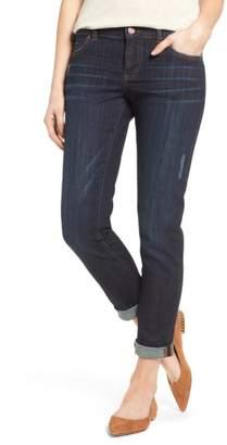 Caslon Distressed Stretch Boyfriend Jeans