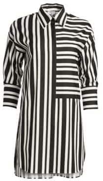 Akris Punto Bold Stripe Tunic Blouse