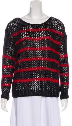 Saint Laurent Striped Wool Sweater w/ Tags