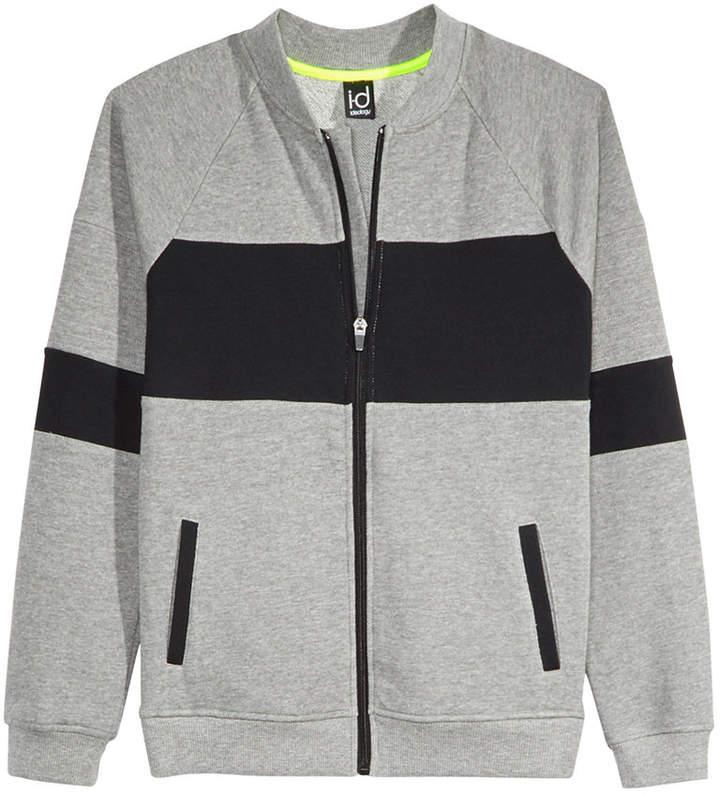 Ideology Colorblocked Bomber Sweatshirt Jacket, Big Boys, Created for Macy's