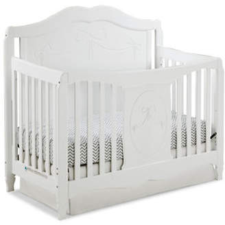 Stork Craft STORKCRAFT Princess 4-in-1 Convertible Crib