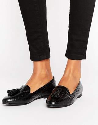 Park Lane Tassle Leather Loafer