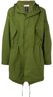 Universal Works hooded parka coat