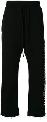 R 13 printed sweatpants