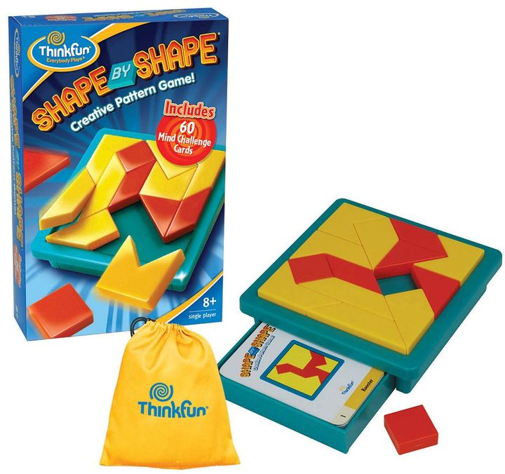 Shape by shape creative pattern game