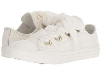 Converse Chuck Taylor(r) All Star(r) Star Big Eyelets Ox (Little Kid/Big Kid)