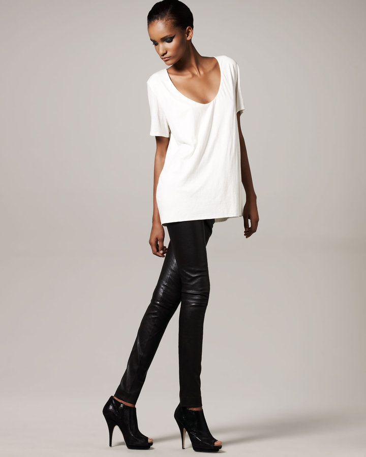 THE ROW Blackburn Leather Pants