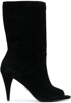 MICHAEL Michael Kors open toe ankle boots