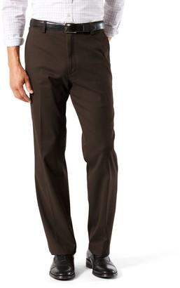 Dockers Men's Stretch Easy Khaki D3 Classic-Fit Flat-Front Pants