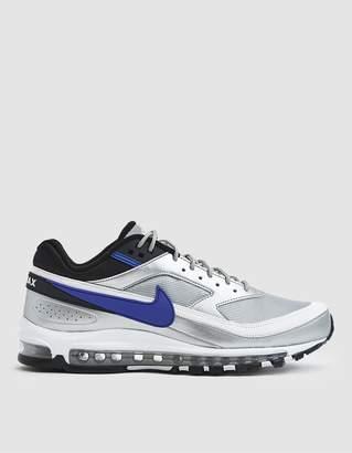 Nike 97/BW Sneaker in Metallic Silver/Persian Violet