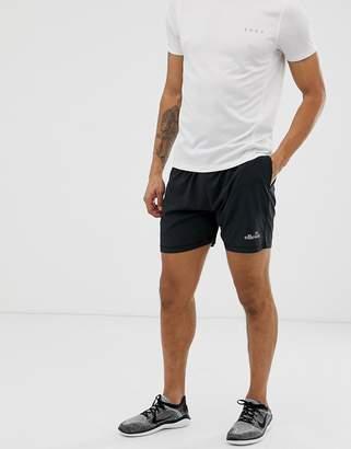 Ellesse sport Olivo shorts in black